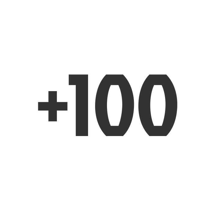 +100 arvokisamitalia
